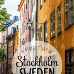 One Perfect Day Stockholm Sweden