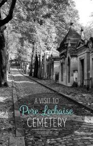 Paris Pere Lechaise Cemetery