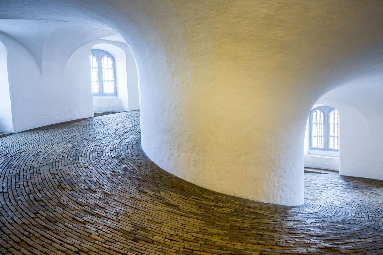 Round Tower Spiral Walkway