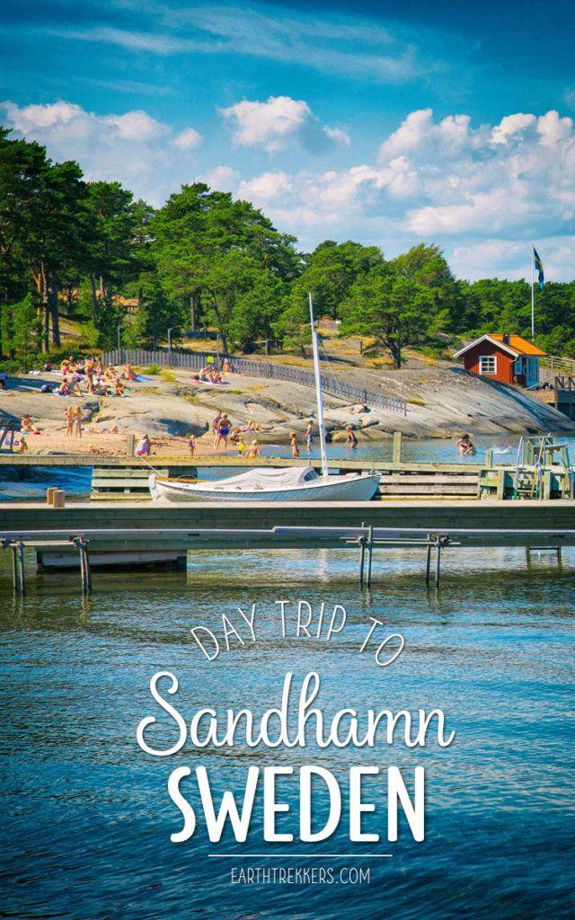 Sandhamn Day Trip Stockholm Sweden