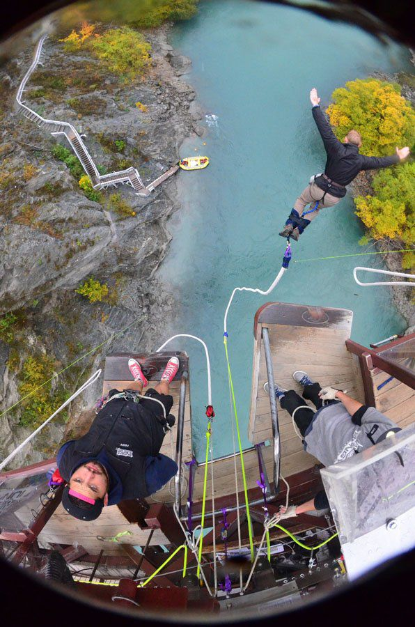 Tim Bungy Jumping