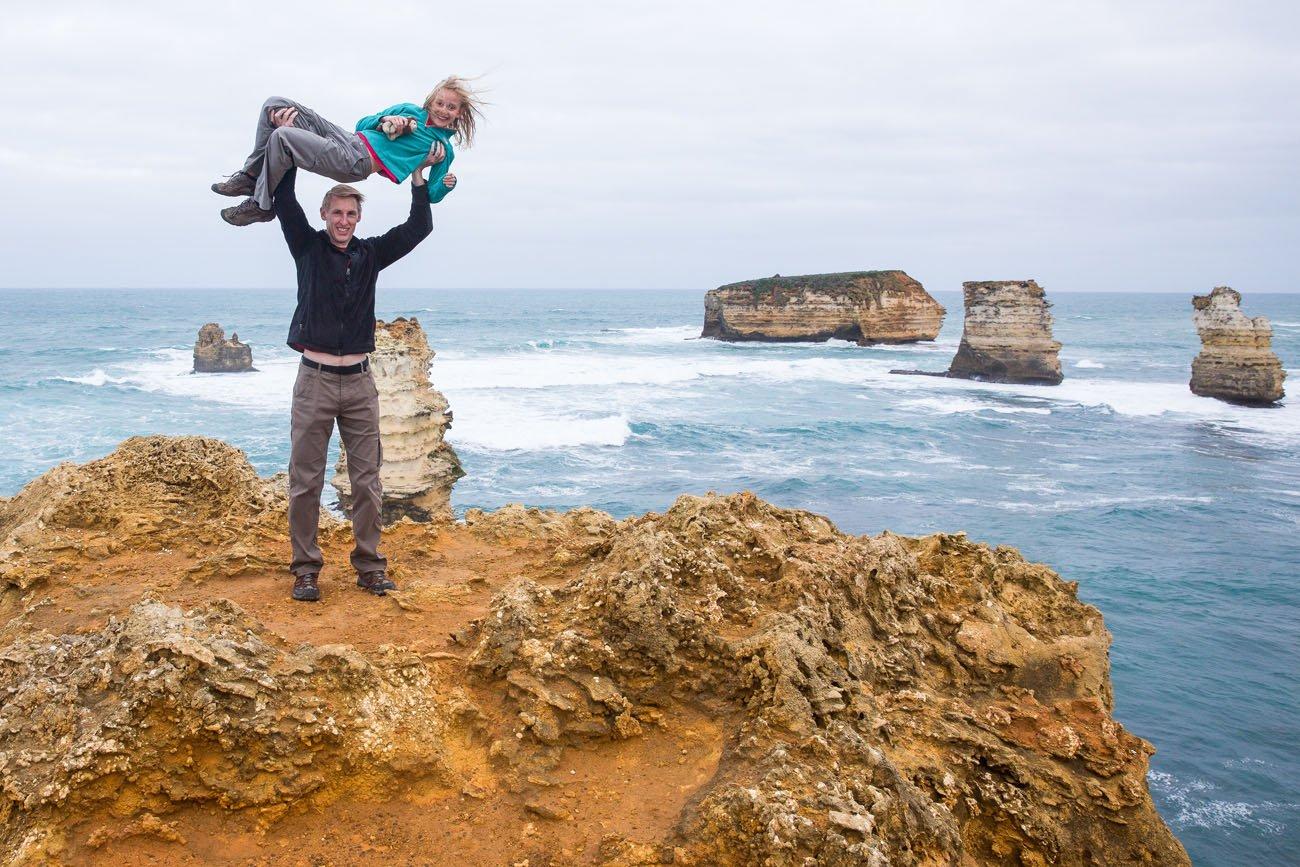 Tim and Kara Great Ocean Road