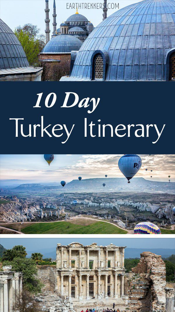 10 Day Turkey Itinerary Complete Guide