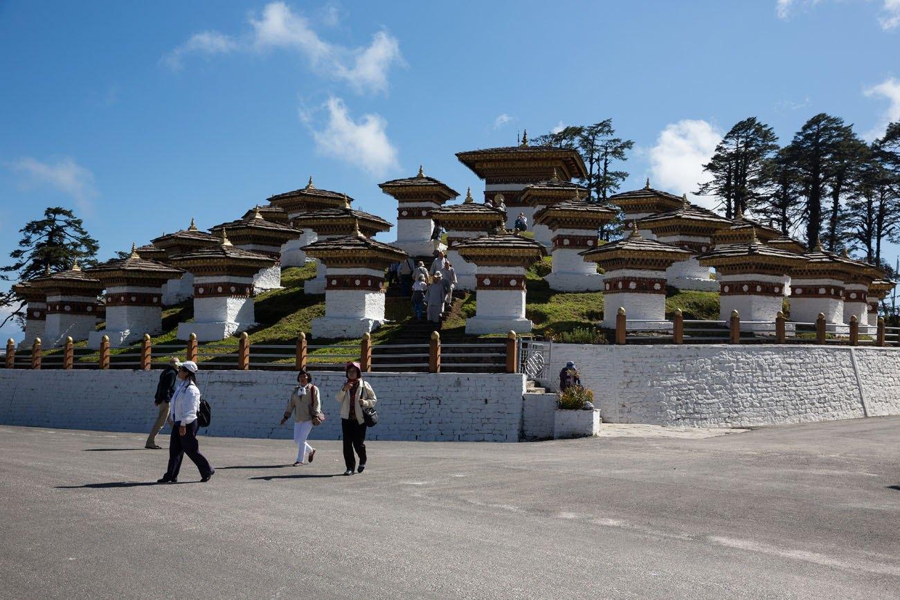 108 Stupas