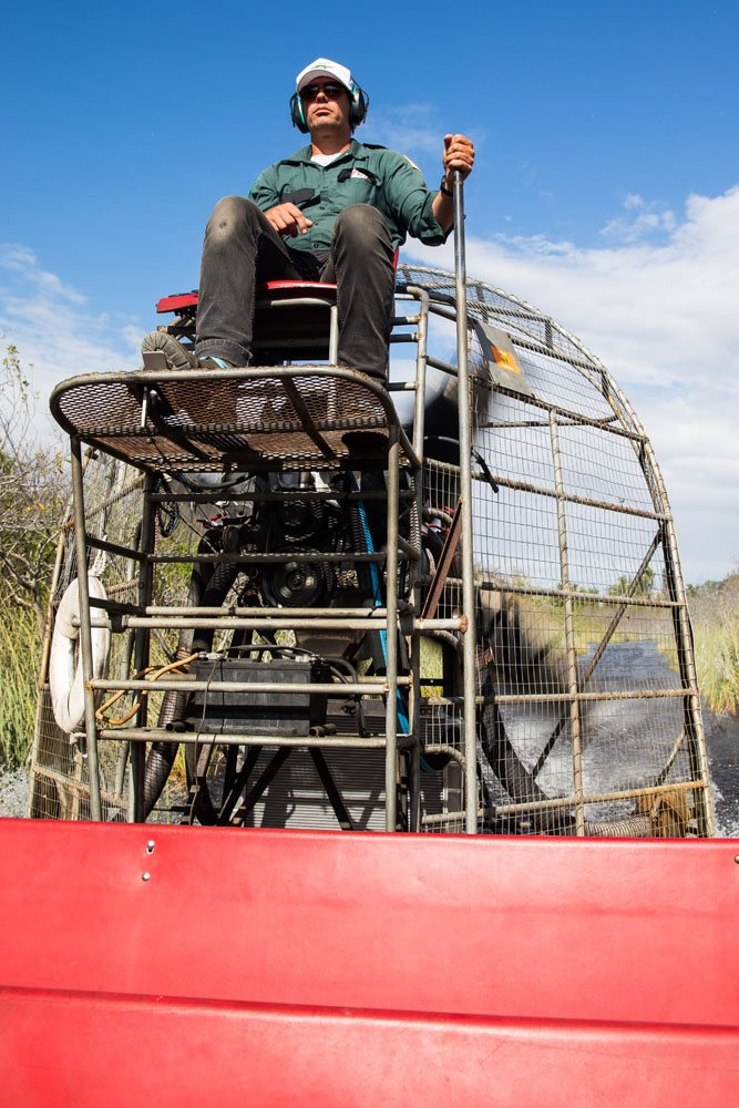 Airboat Driver