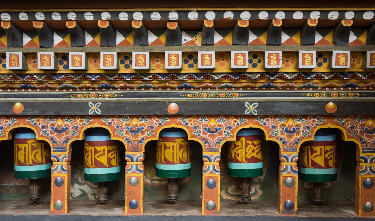 Bhutan Prayer Wheel