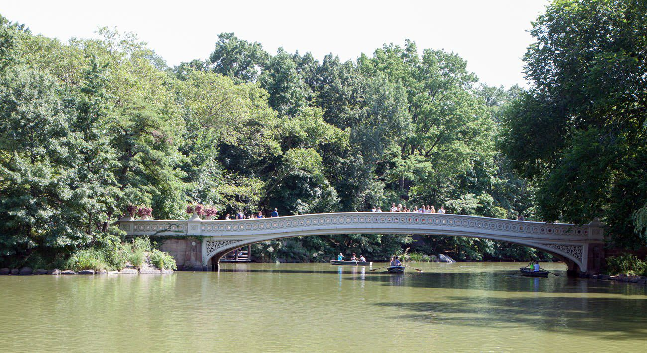 Bow Bridge New York City itinerary