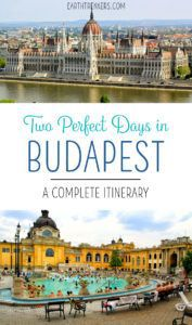 Budapest Travel Itinerary Two Days