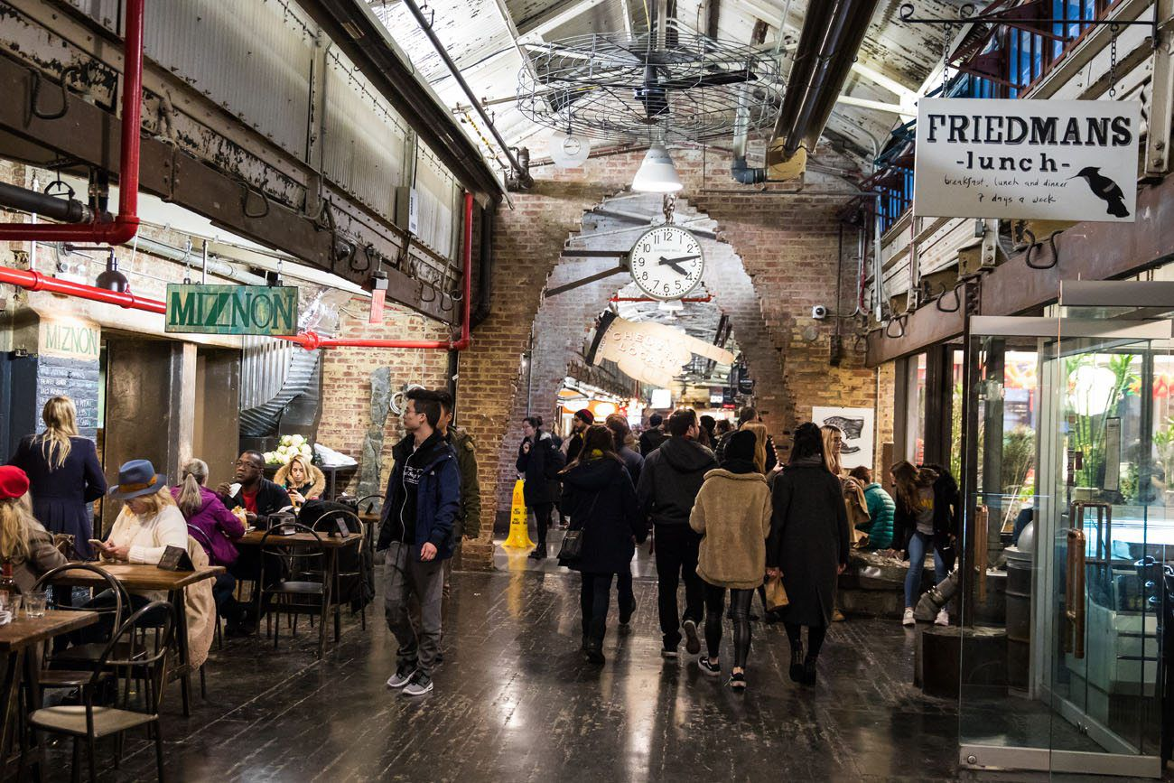 Chelsea Market New York City Itinerary