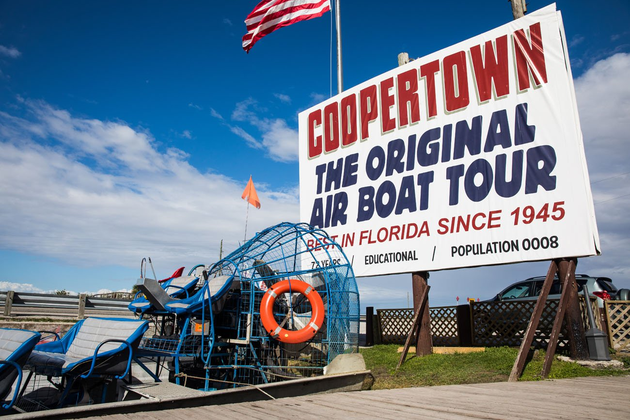 Coopertown Airboats