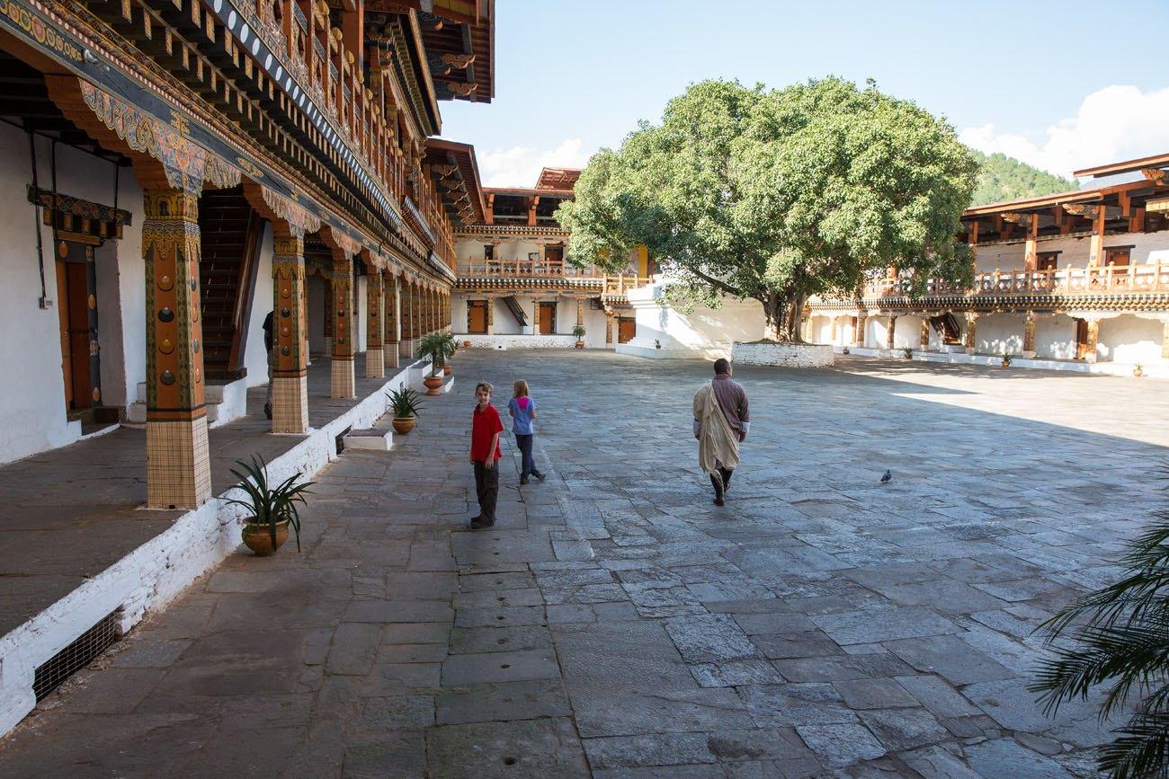 Dzong Courtyard