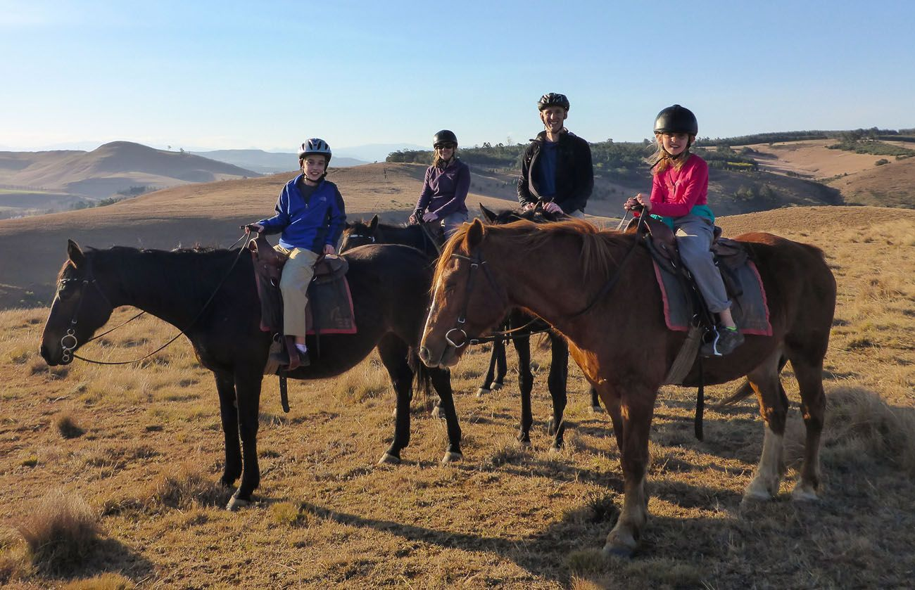 Earth Trekkers Horseback Riding