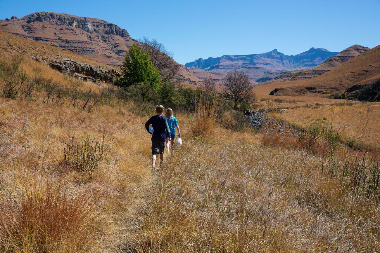 Hiking Southern Drakensburg