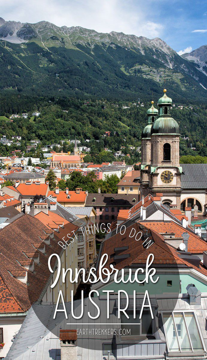 Innsbruck Austria Travel List