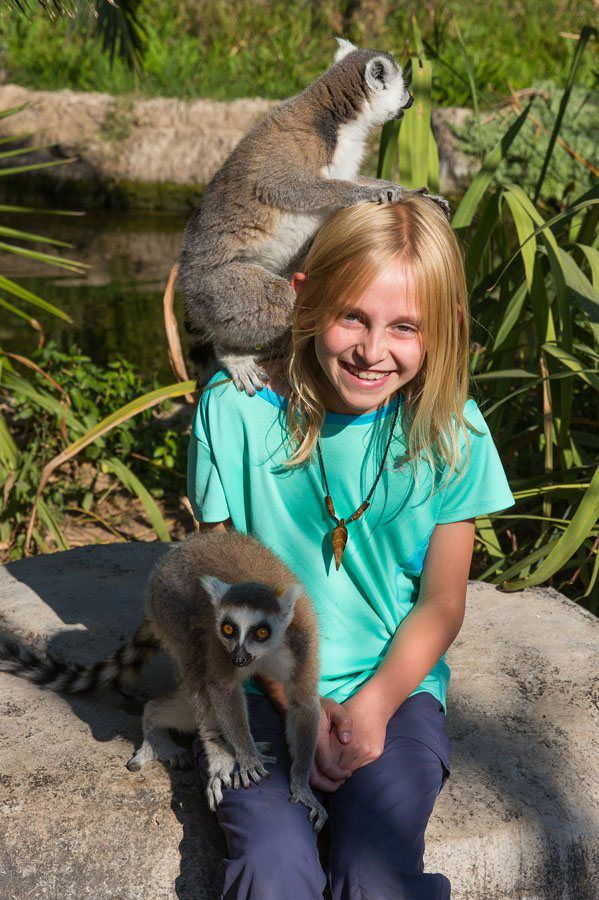 Kara and Lemurs