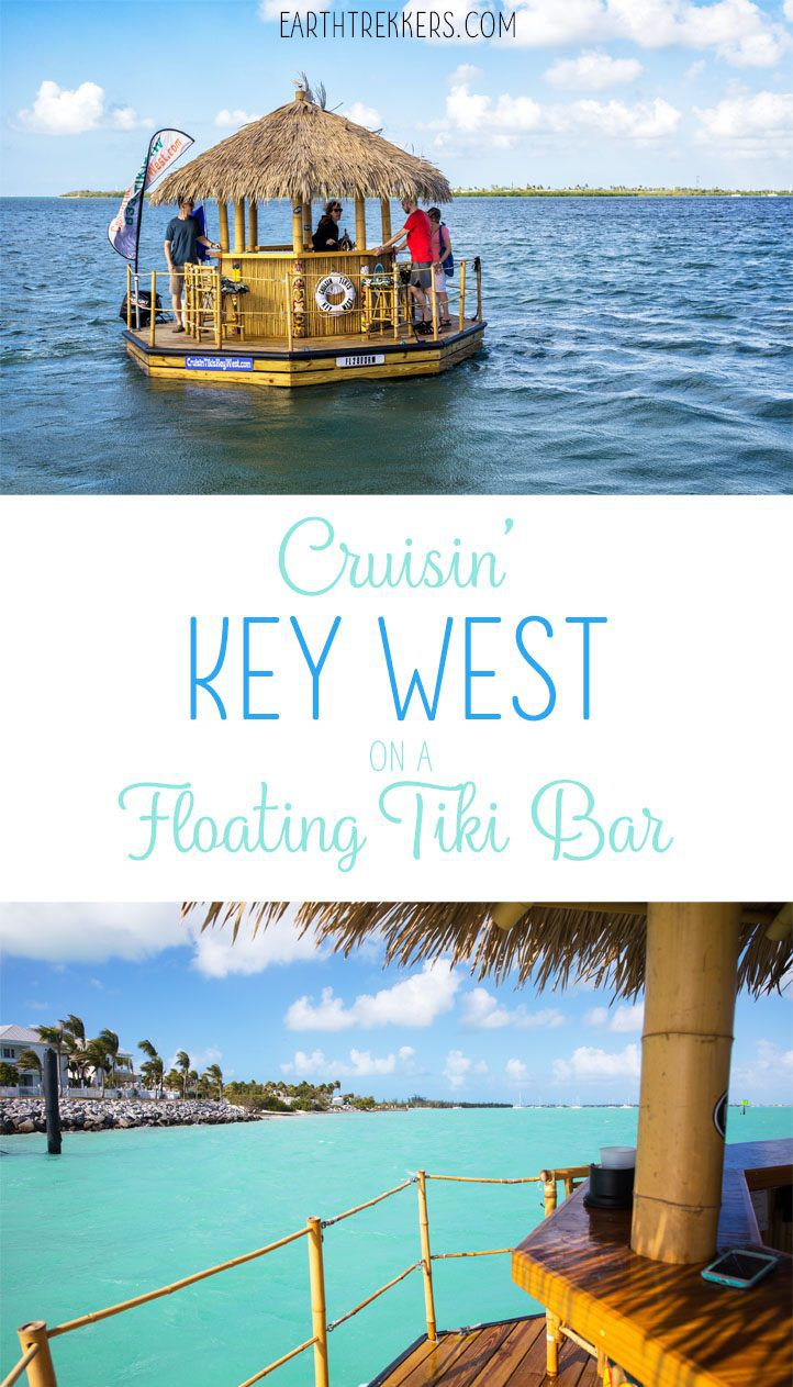 Key West Tiki Bar Boat