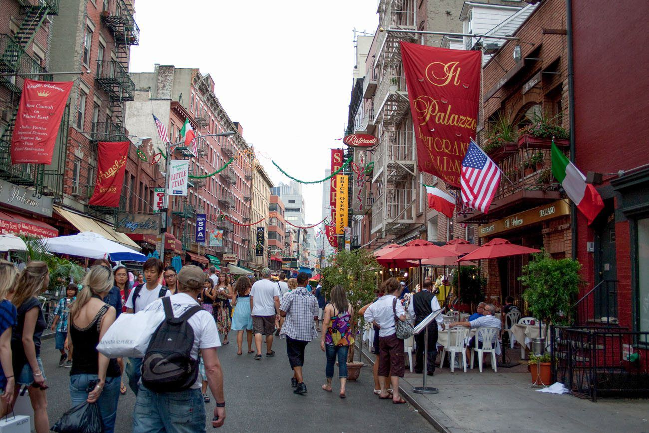Little Italy 5 Days in New York