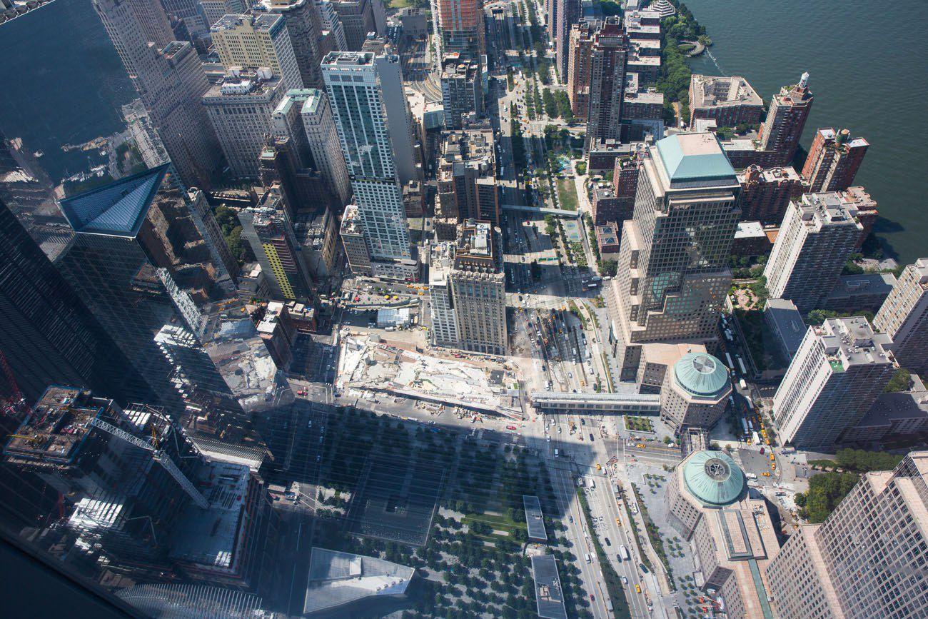 Looking Down on Manhattan