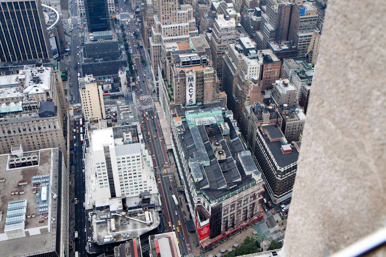 Looking Down on New York