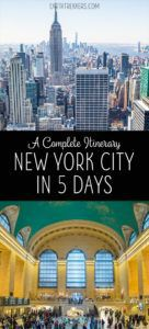 New York City Itinerary with Brooklyn