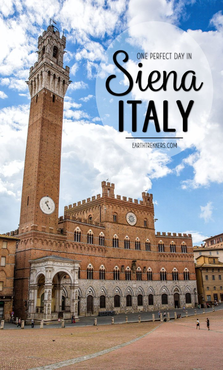 Italian Florence: One Perfect Day In Siena, Italy