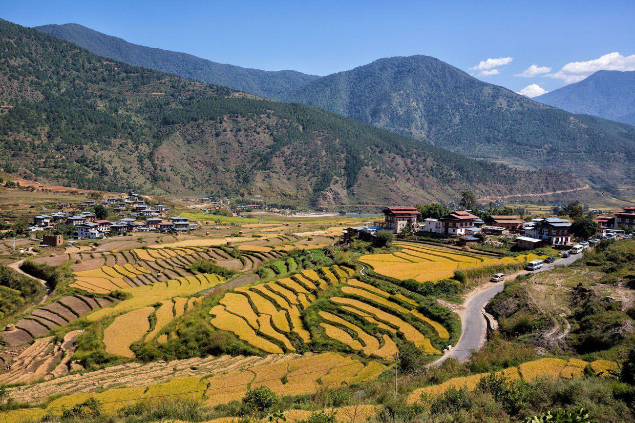 Punakha in October