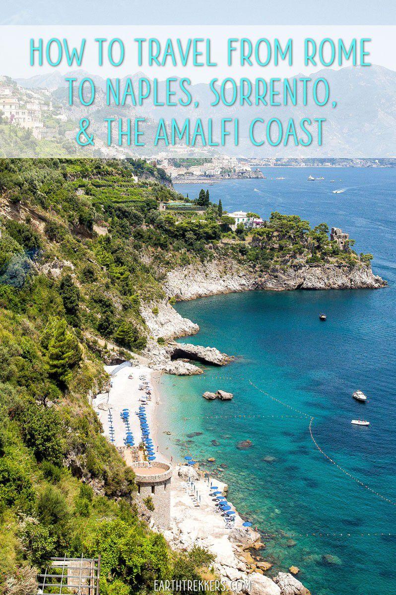 Rome to Naples Sorrento Positano Amalfi Capri