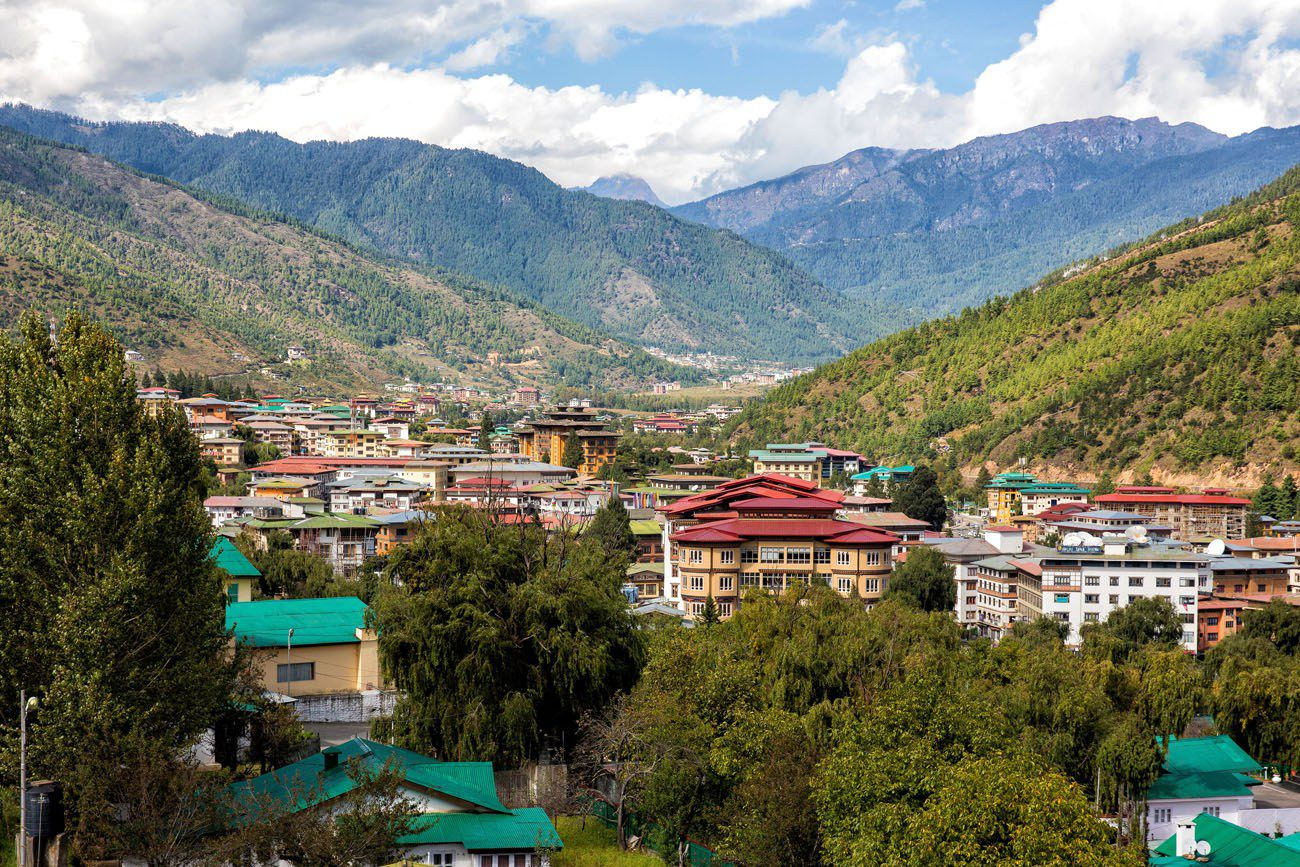 Thimphu in October
