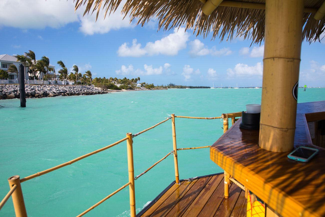 Tiki Boat View