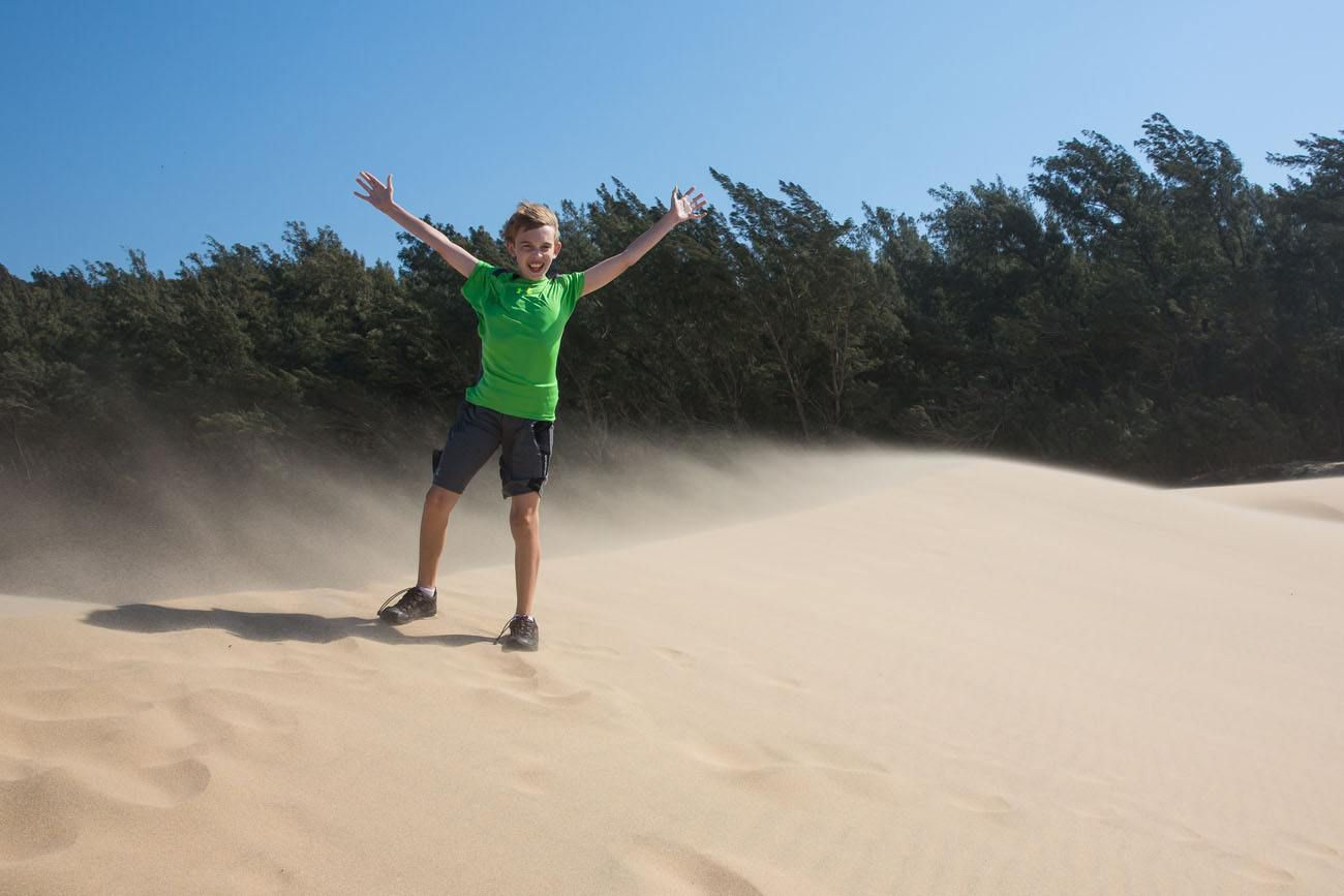 Tyler in Africa