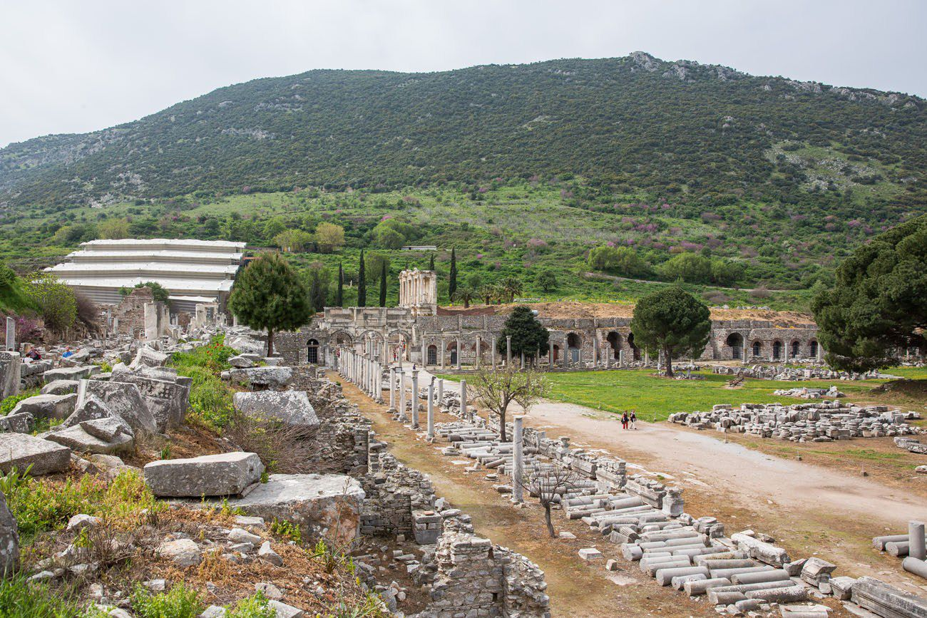 View of Ephesus
