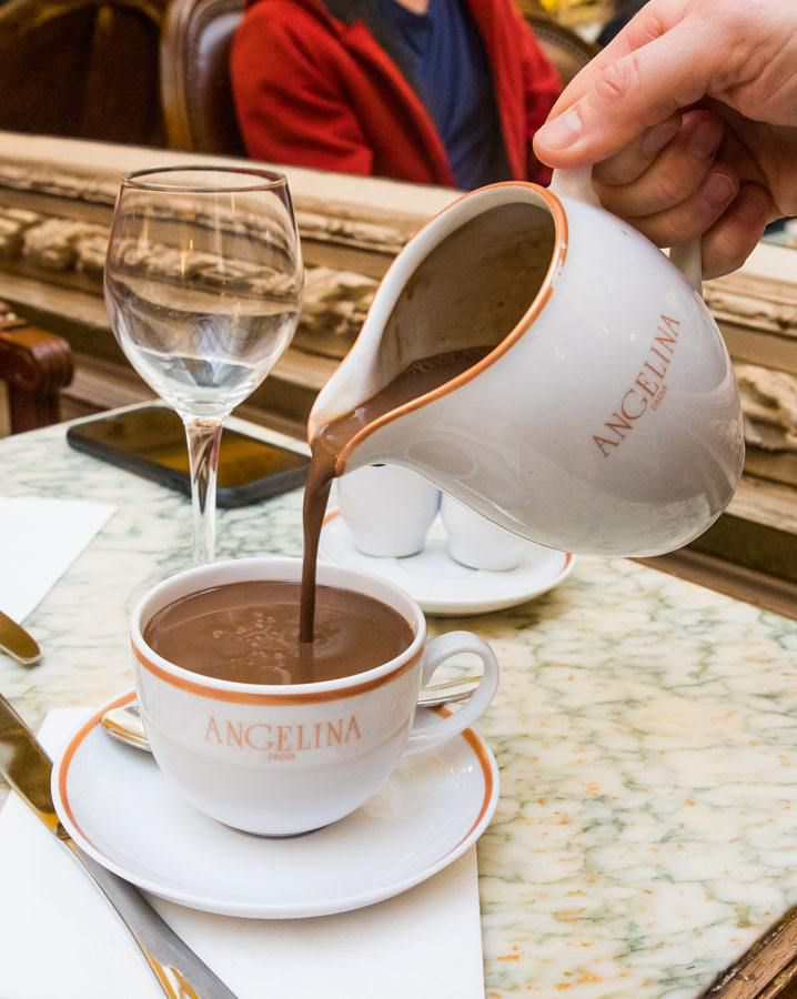 Angelina Hot Chocolate Paris itinerary