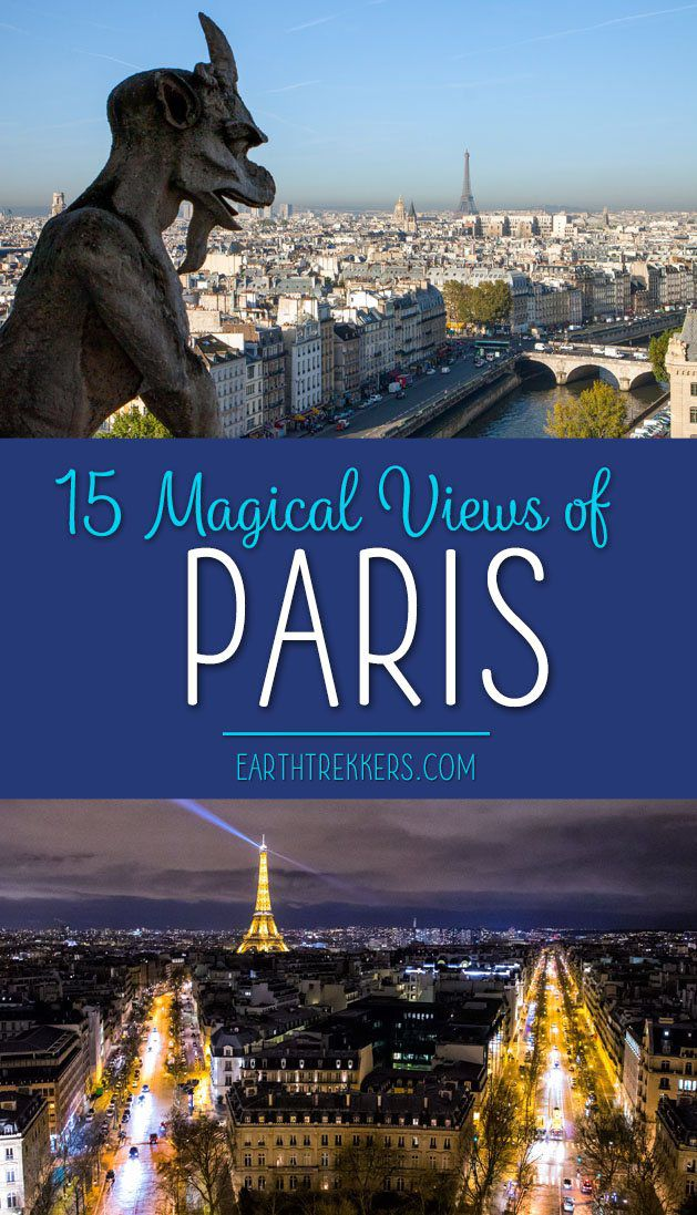Best Views of Paris Instagram Spots