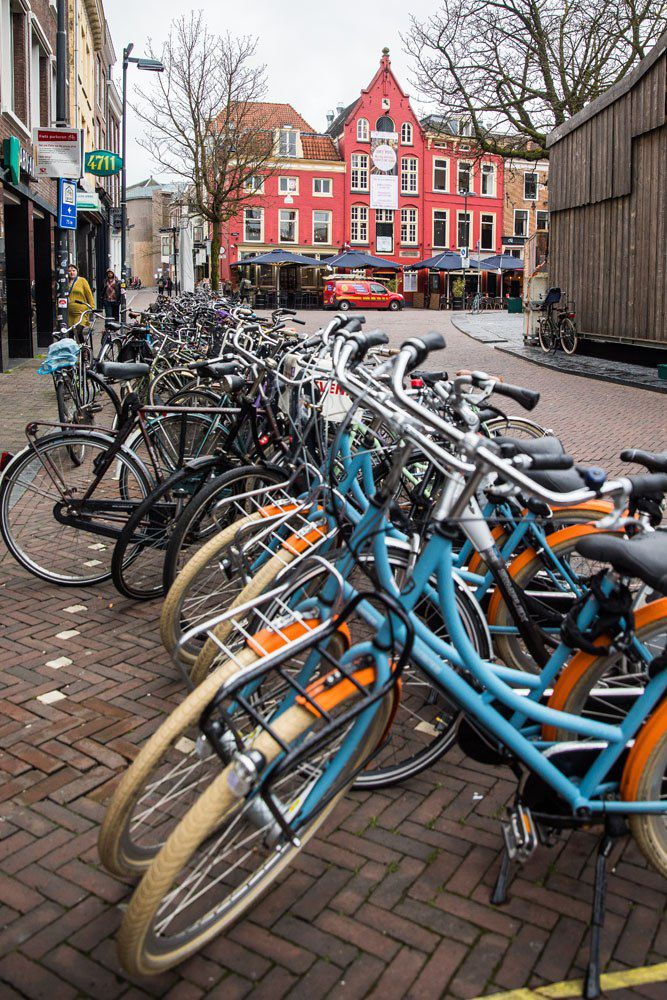 Bikes in Utrecht