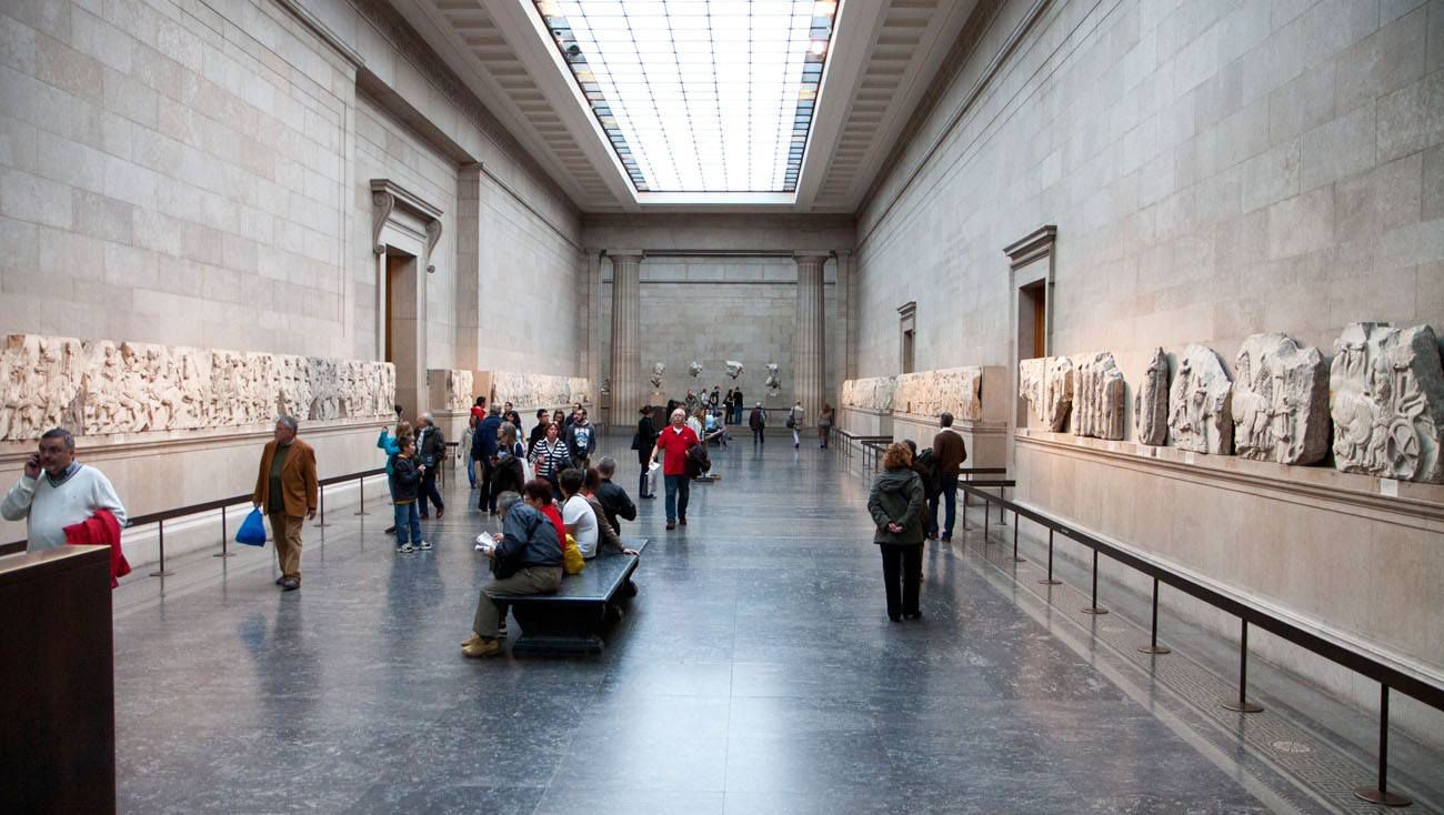 British Museum London Paris itinerary