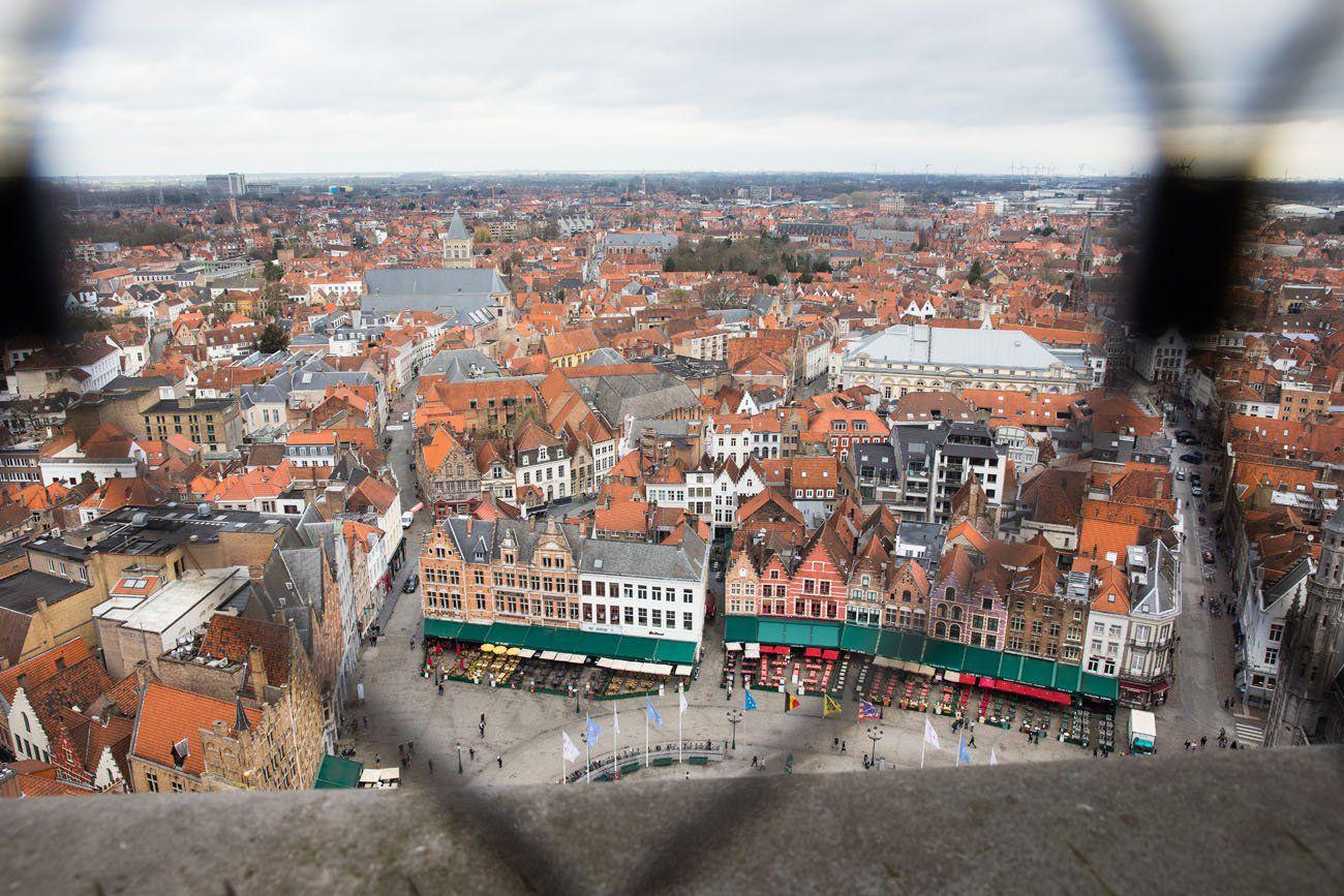 Bruges Belfry View