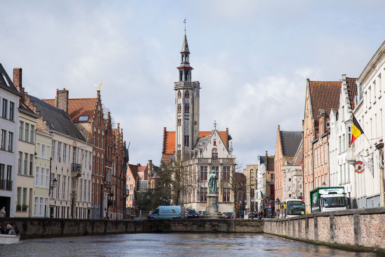 Bruges Canal Photo
