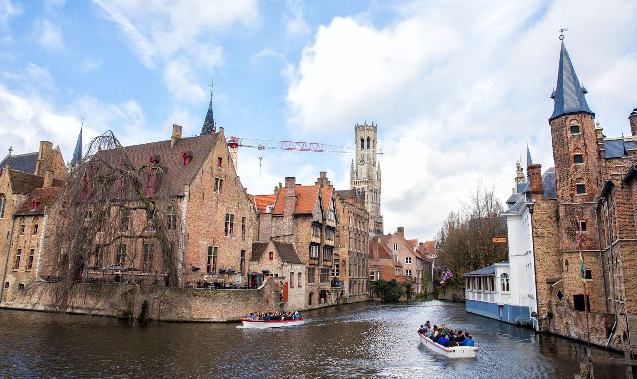 Bruges in April