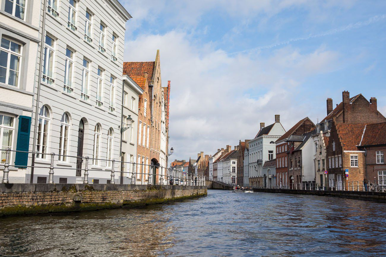 Bruges tour by boat