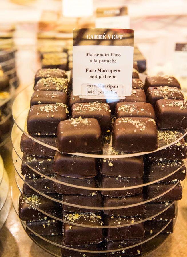 Corne Chocolates Brussels chocolate tour