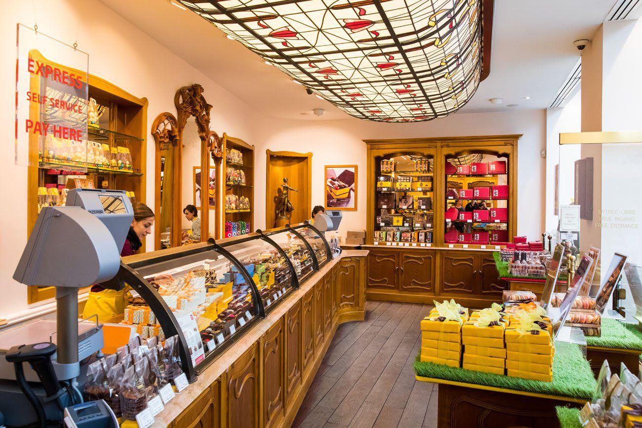 Corne Shop Brussels chocolate tour