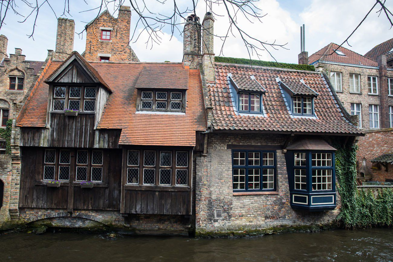 Cute Houses Bruges