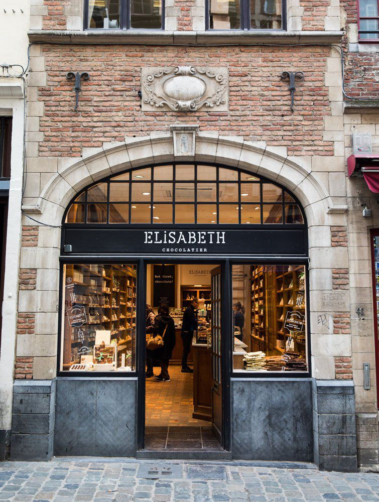 Elisabeth Brussels chocolate tour