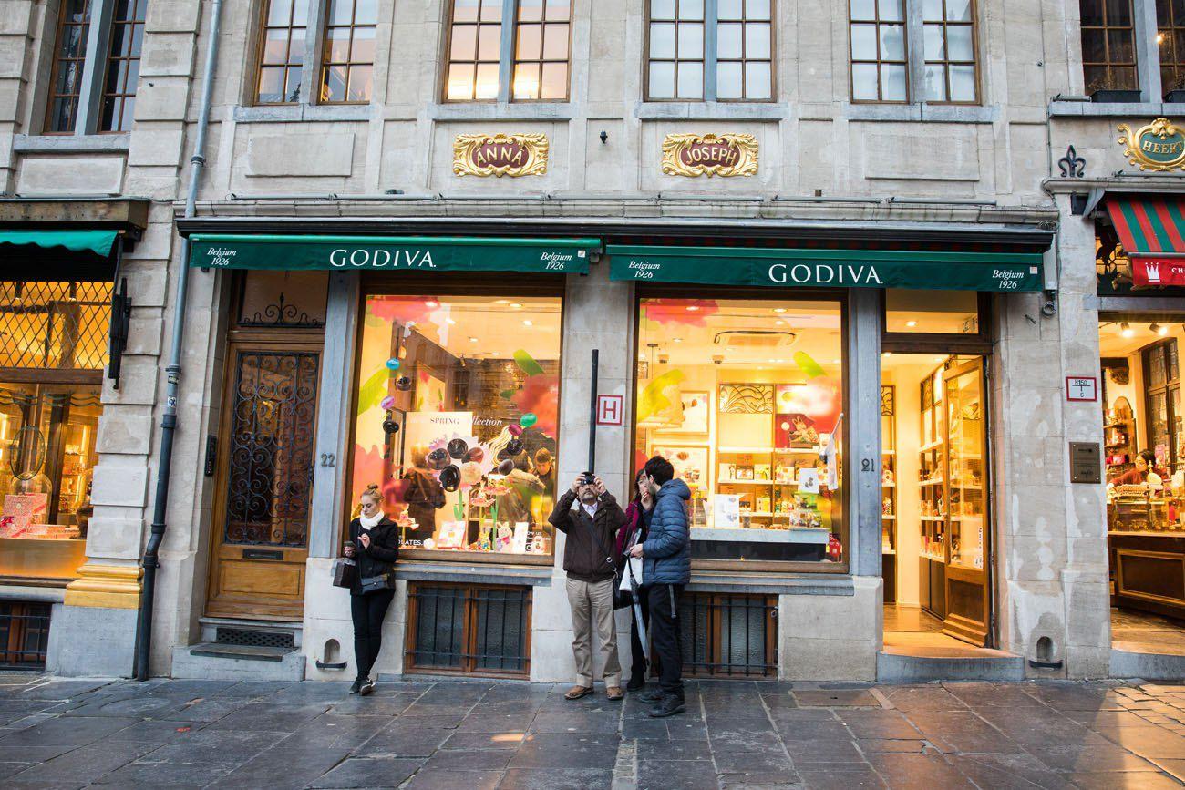 Godiva Brussels