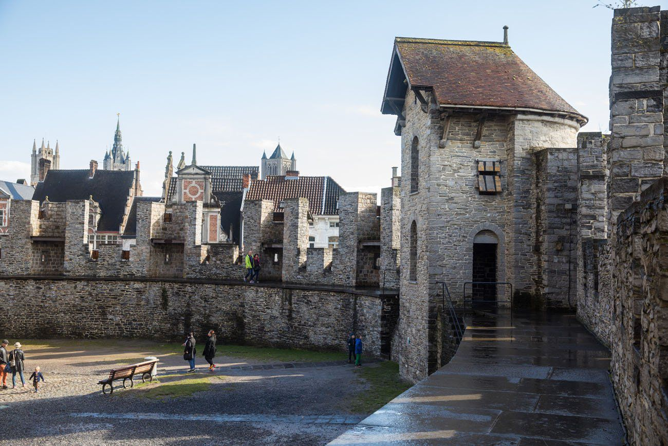 Gravensteen Walls