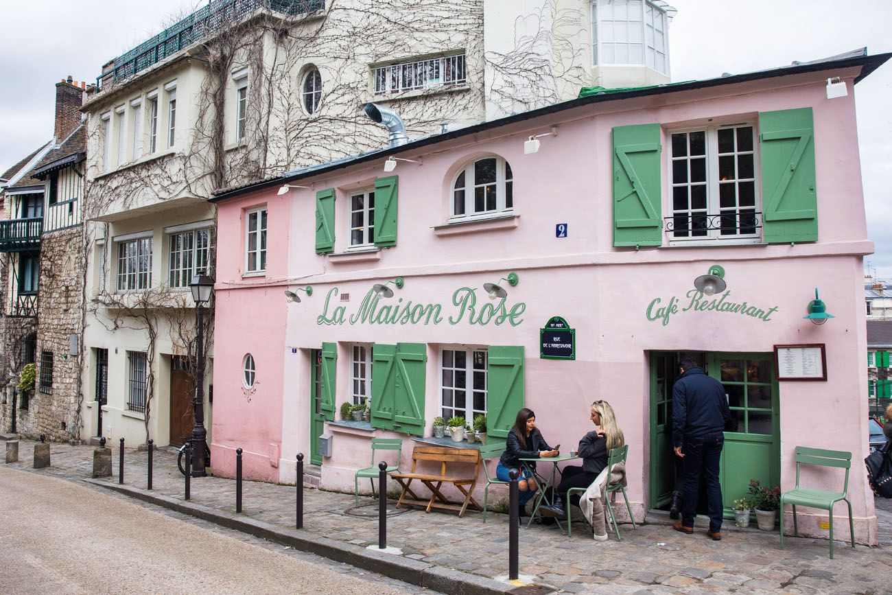 La Maison Rose London Paris itinerary