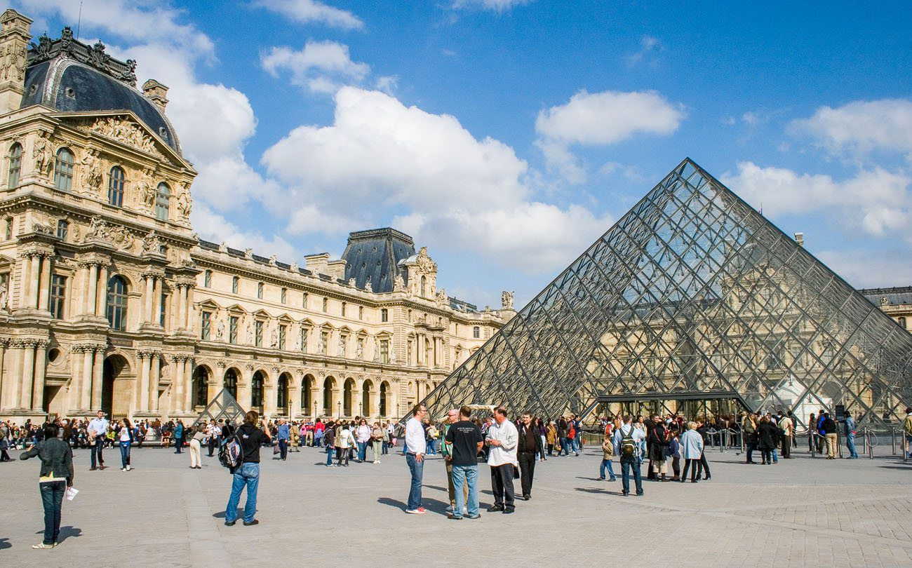Louvre Paris itinerary
