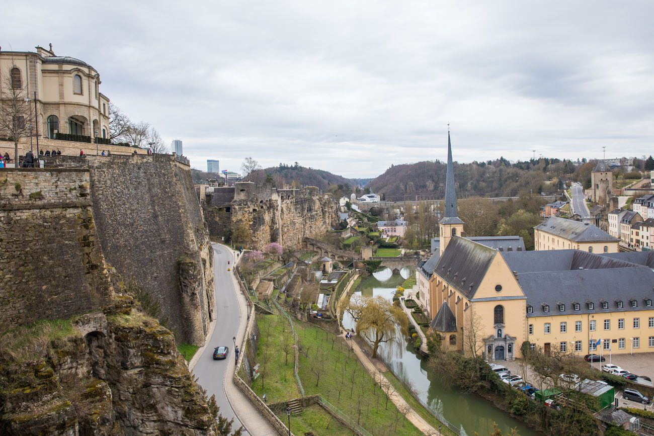 Luxembourg Itinerary