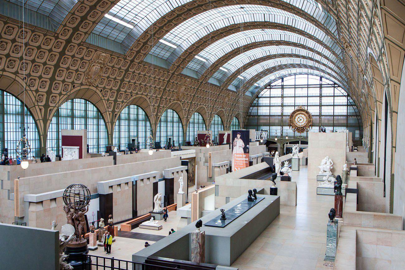 Musee dOrsay Paris itinerary