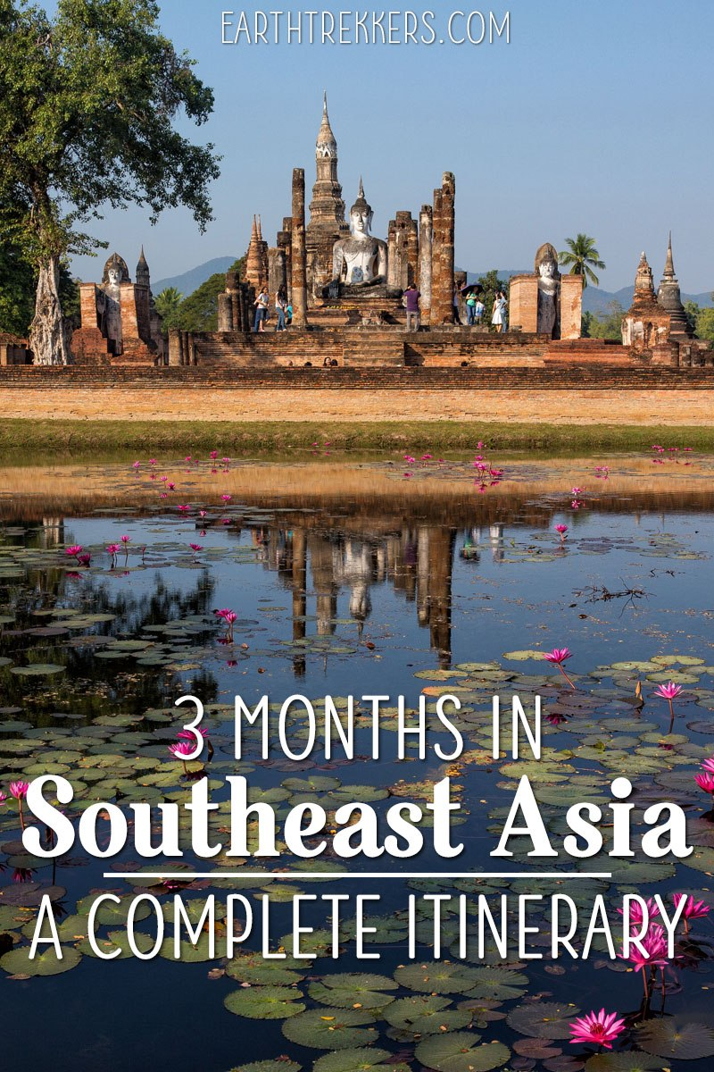 3 Months Southeast Asia Itinerary